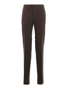 Incotex - Soft cotton pants in brown