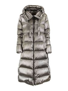 Max Mara - Cappotto Space color argento