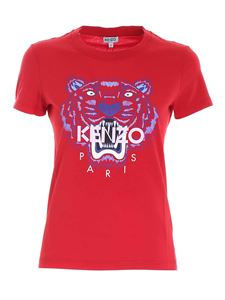 Kenzo - Classic Tiger T-shirt in red