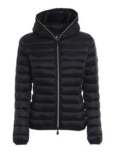Save the duck - Iris nylon puffer jacket in black