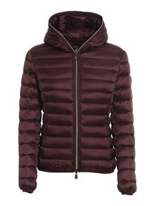 Save the duck - Iris nylon puffer jacket in red