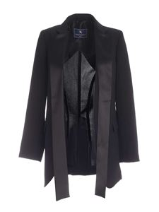 Paolo Fiorillo - Smoking band jacket in black