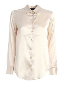 Paolo Fiorillo - Silk shirt in ivory color