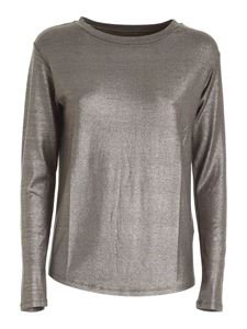 Majestic Filatures - Long sleeve T-shirt in green