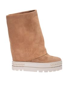 Casadei - Renna boots in camel color
