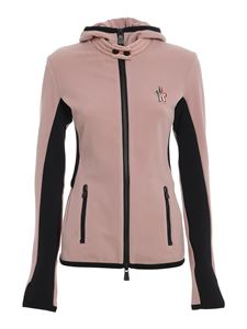 Moncler Grenoble - Fleeced jacket in pink