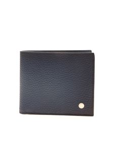 Orciani - Micron Deep wallet in matt blue