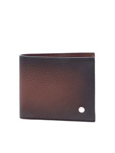 Orciani - Micron Deep wallet in matt brown