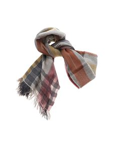 D'Aniello - Multicolor striped scarf
