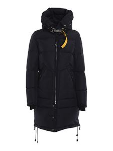 Parajumpers - Tech fabric padded coat in blue