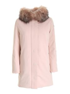 RRD Roberto Ricci Designs - Removable fur down jacket in pink