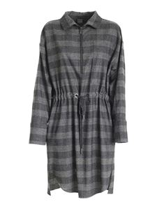 Lorena Antoniazzi - Prince of Wales check dress in grey