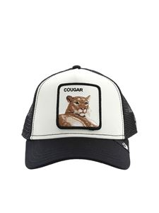 Goorin Bros - Cougar patch hat in black and white