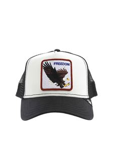 Goorin Bros - Freedom patch hat in black and white
