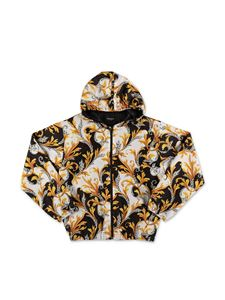 Versace Young - Baroque jacket in white