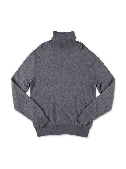Dsquared2 - Gray turtleneck with logo