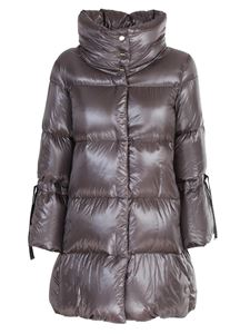 Herno - Funnel neck down jacket in anthracite