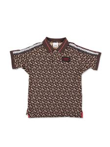 Burberry - Archie brown polo shirt