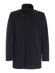 Fay - Iconic hook jacket in blue