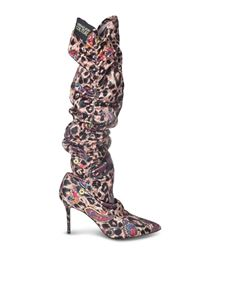 Versace Jeans Couture - High animalier boots