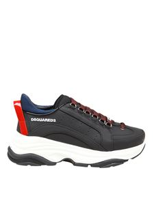 Dsquared2 - Bumby sneakers in black and red