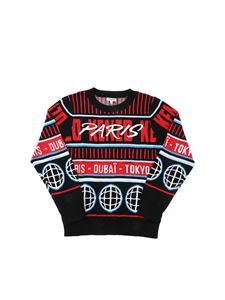 Kenzo - Kiaran pullover in black and red