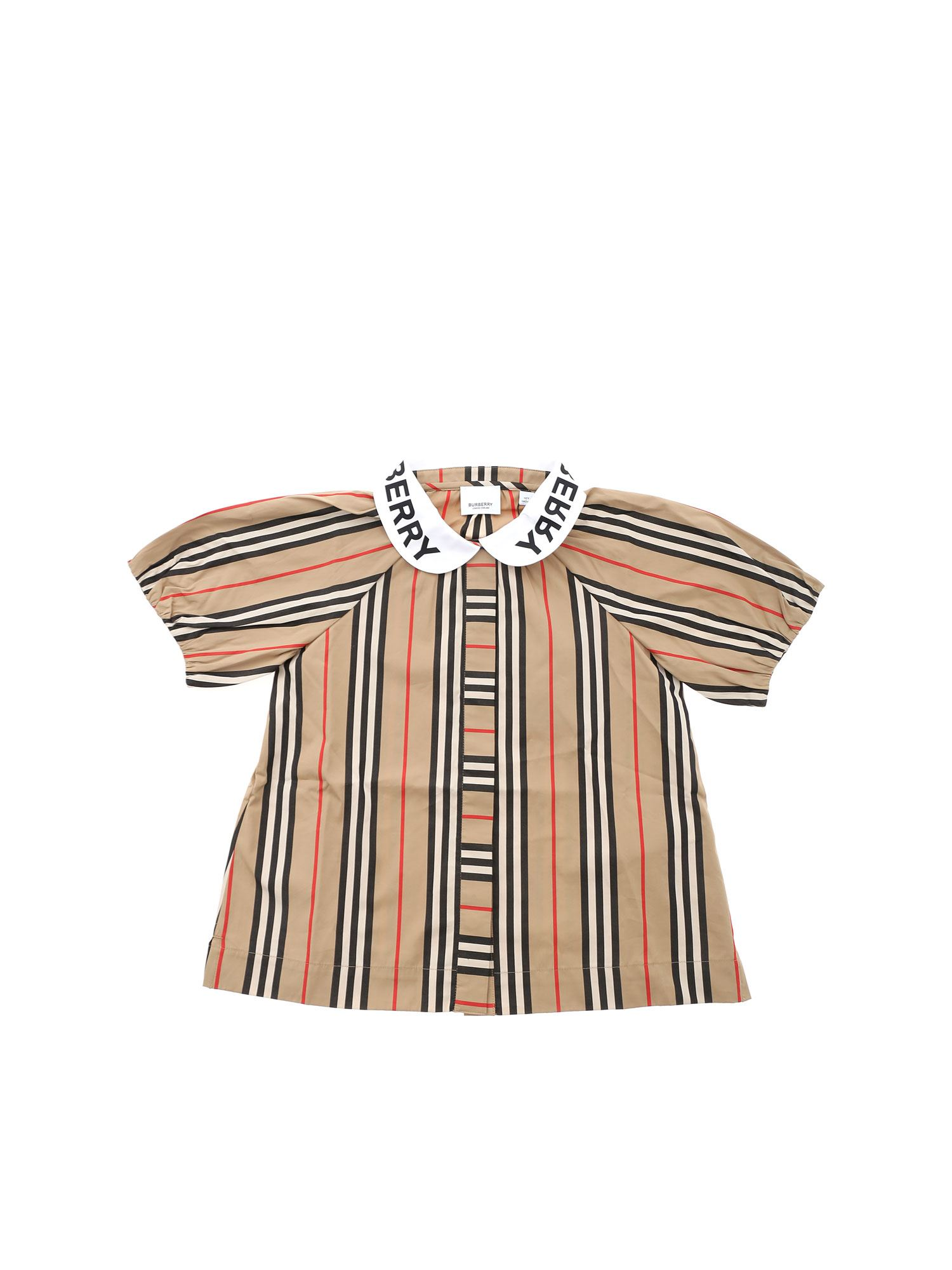 Burberry CECILY SHIRT IN ARCHIVE BEIGE COLOR