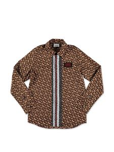 Burberry - Griffin shirt in brown