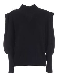 Federica Tosi - Relaxed fit pullover in black