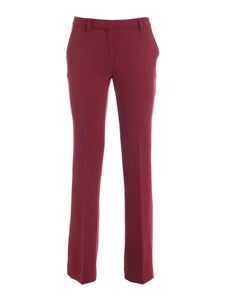 L'Autre Chose - Wool pants in red