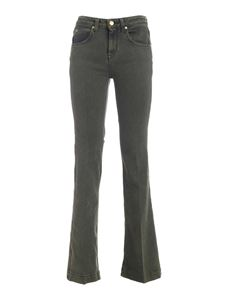 L'Autre Chose - Flared jeans in green