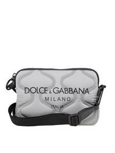 Dolce & Gabbana - Logo printed quilted shoulder bag