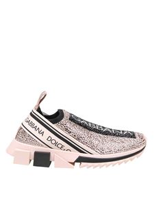 Dolce & Gabbana - Sorrento sneakers in pink and black