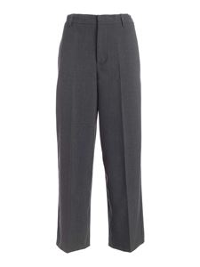 Paolo Fiorillo - Wide leg pants in grey