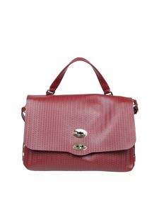 Zanellato - Postina M Cashmere Blandine bag in Bruno color