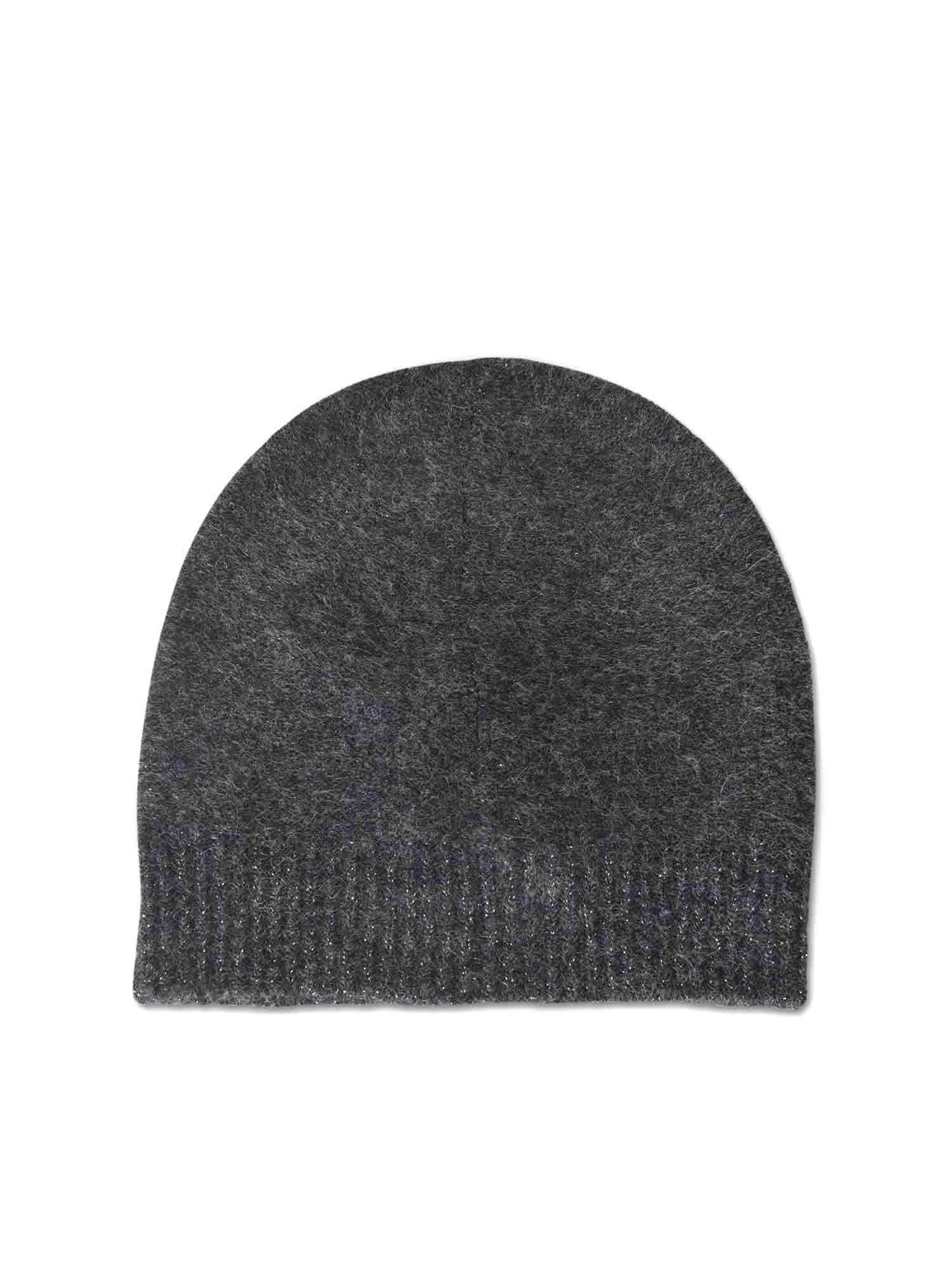 Fabiana Filippi BEANIE FEATURING LAMÉ BOTTOM