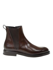 Dolce & Gabbana - Giotto line Chelesa boots in brown