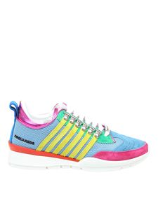 Dsquared2 - Lace Up sneakers in blue and yellow