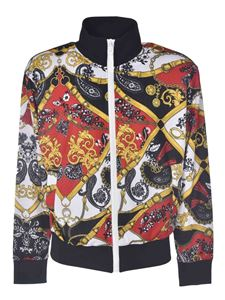 Versace Jeans Couture - Multicolor printed sweatshirt