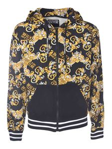 Versace Jeans Couture - New Logo print sweatshirt in black