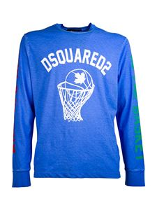 Dsquared2 - Basketball T-shirt in blue