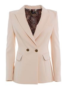 Elisabetta Franchi - Double crêpe suit in cream colour