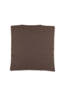 Fendi Jr - FF blanket in brown