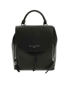 Gaelle Paris - Logo backpack in black