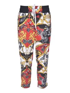Versace Jeans Couture - Pantalone tuta stampa paisley