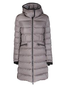 Moncler - Betulong down jacket featuring hood in grey