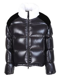 "Moncler - Piumino ""Cholle"" collo alto nero"