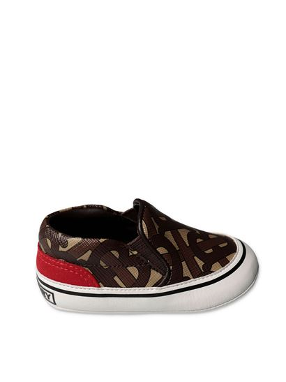 Burberry - Sneakers Monogram marroni