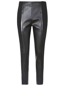 Burberry - Stretch leggings with zippers in black
