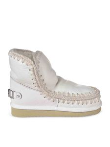 Mou - Eskimo 18 ankle boots with rhinestones